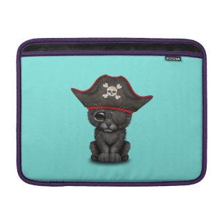 Cute Baby Black Panther Cub Pirate MacBook Sleeve