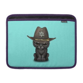 Cute Baby Black Panther Cub Sheriff MacBook Air Sleeve