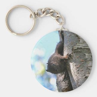 Cute Baby Black Squirrel Keychain
