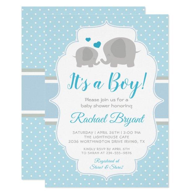 73 Gorgeous Polka Dots Baby Shower Invitations Mimoprints