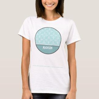Cute Baby Blue Circles T-Shirt