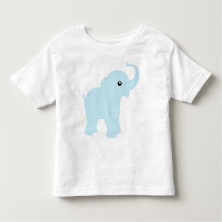 Cute baby blue elephant, toddlers, kids t-shirt