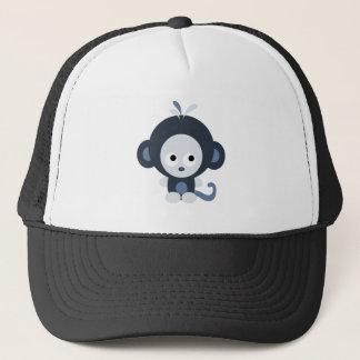 Cute Baby Blue Monkey Trucker Hat