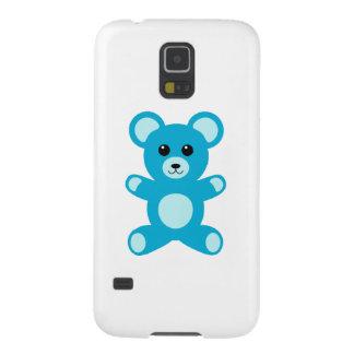 Cute Baby Boy Blue Teddy Bear Galaxy S5 Case