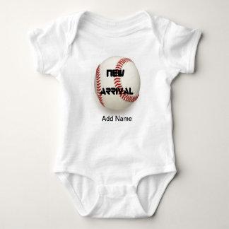 Cute Baby Boy Clothes Baseball Custom Onsies Shirt