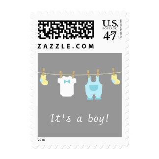 Cute Baby Boy Clothes, Its a boy Postage