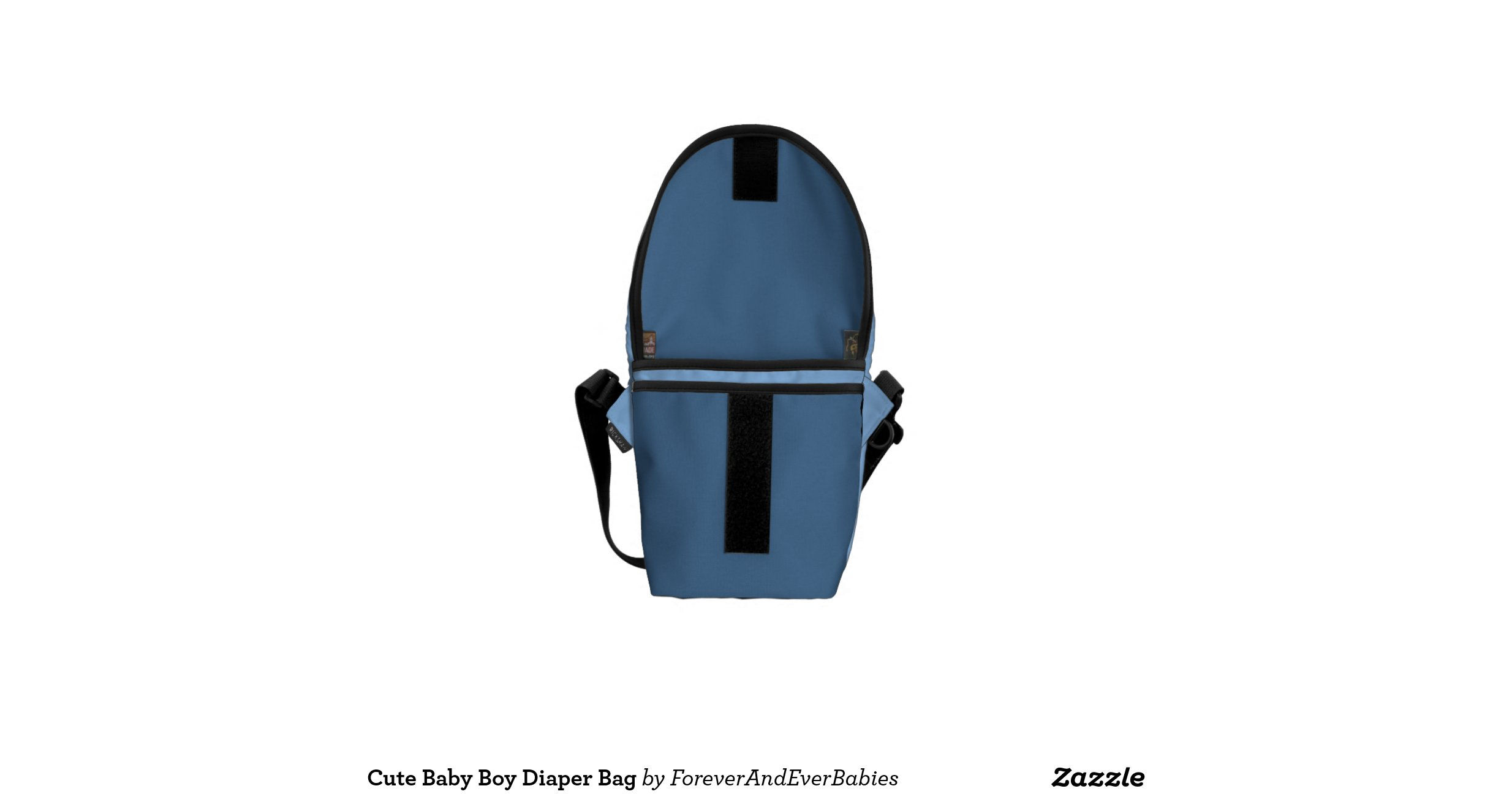 cute baby boy diaper bag courier bags zazzle. Black Bedroom Furniture Sets. Home Design Ideas