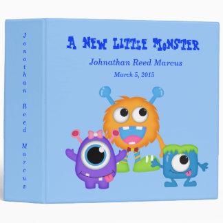 Cute Baby Boy Monsters Photo Memory  Album Vinyl Binder