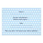 Cute Baby Boy, on blue polka dot pattern. Custom Invitation