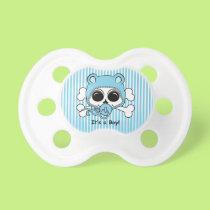 Cute Baby Boy Skull Pacifier