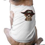 Cute Baby Brown Bear Cub Pirate T-Shirt