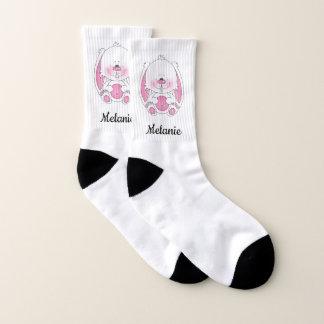 Cute Baby Bunny Cartoon Socks