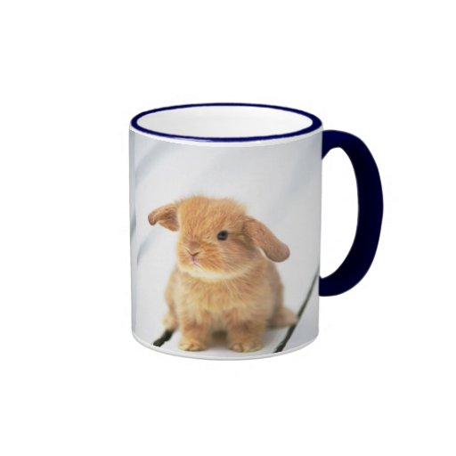 Cute Baby Bunny Happy Easter Design Mugs