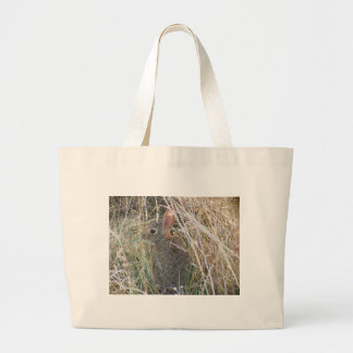 Cute Baby Bunny Large Tote Bag