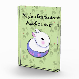 Cute Baby Bunny Rabbit Easter Award