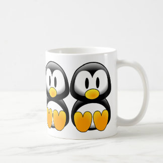 Cute Baby Cartoon Penguin Coffee Mug