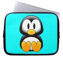 Cute Baby Cartoon Penguin Computer Sleeve