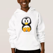 Cute Baby Cartoon Penguin Hoodie