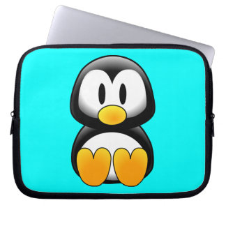 Cute Baby Cartoon Penguin Computer Sleeves