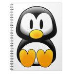 Cute Baby Cartoon Penguin Notebooks