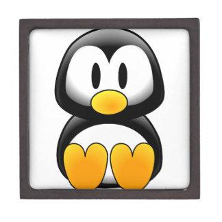 Cute Baby Cartoon Penguin Premium Keepsake Boxes