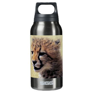 Cute baby Cheetah Cub Insulated Water Bottle