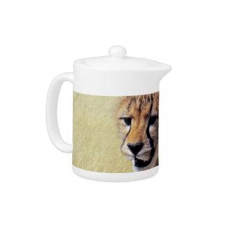 Cute baby Cheetah Cub Teapot