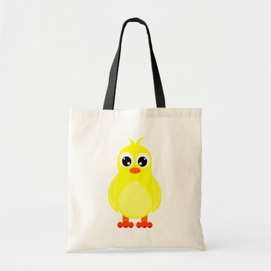 Cute Baby Chick Cartoon Tote Bag