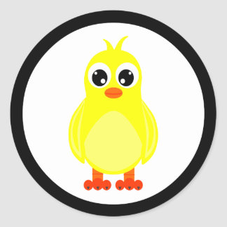 Cute Baby Chick Stickers