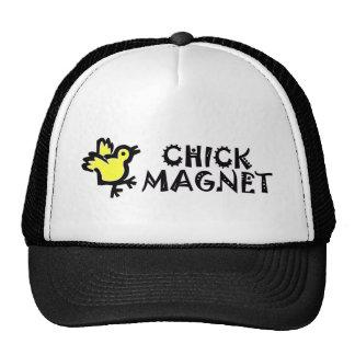 Cute Baby Chicken CHICK MAGNET Trucker Hat