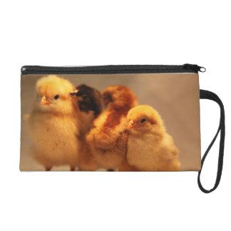 Cute Baby Chicks Wristlet Purse