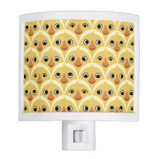 Cute Baby Chicks Yellow Night Light