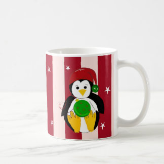 Cute Baby Christmas Penguin Coffee Mug