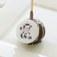 Cute Baby Cow Cartoon Cake Pops