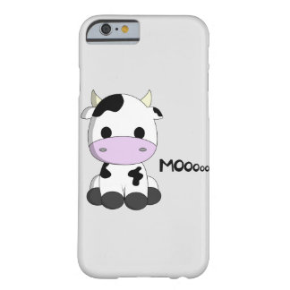 Cute baby cow cartoon kids barely there iPhone 6 case