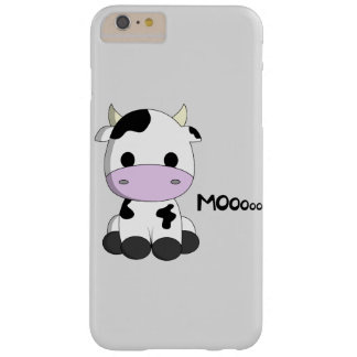 Cute baby cow cartoon kids barely there iPhone 6 plus case