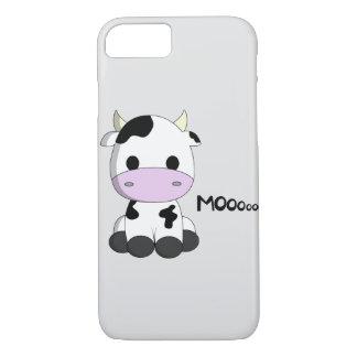 Cute baby cow cartoon kids iPhone 7 case