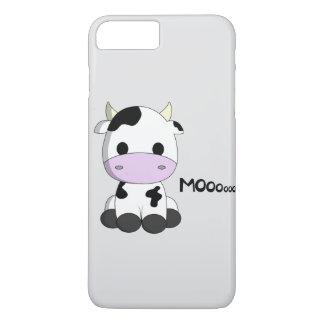 Cute baby cow cartoon kids iPhone 8 plus/7 plus case