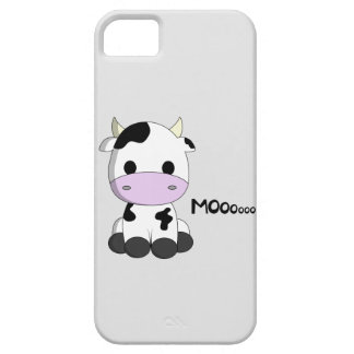 Cute baby cow cartoon kids iPhone SE/5/5s case