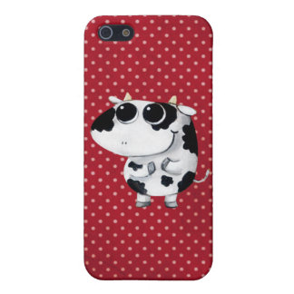 Cute Baby Cow Cover For iPhone SE/5/5s