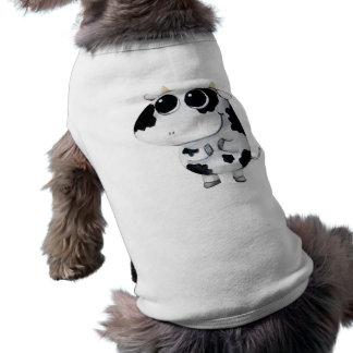 Cute Baby Cow Doggie Tshirt