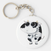 artsprojekt, cow, cute cow, kawaii cow, cute farm, cows, animal, kawaii, cute animal, farm animal, kid cow, cuteness, cute, illustration cow, baby animal, little animal, little cow, baby cow, Keychain with custom graphic design