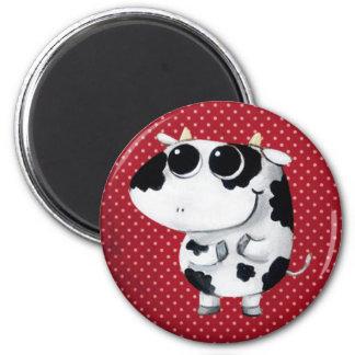 Cute Baby Cow Fridge Magnet