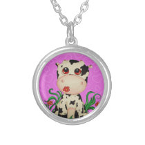 Cute Baby Cow Necklace