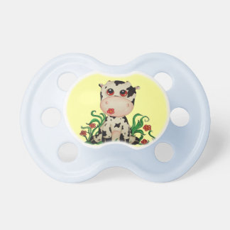 Cute Baby Cow Pacifier for Baby Boys