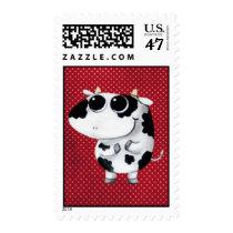 artsprojekt, cow, cute cow, kawaii cow, cute farm, cows, animal, kawaii, cute animal, farm animal, kid cow, cuteness, cute, illustration cow, baby animal, little animal, little cow, baby cow, Stamp with custom graphic design