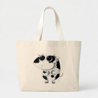 Cute Baby Cow Tote Bag