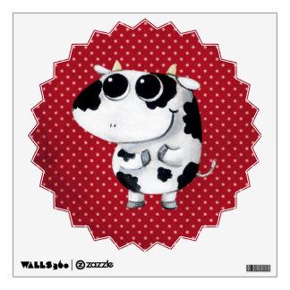Cute Baby Cow Wall Sticker