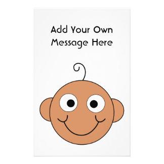 Cute Baby. Custom Text. Flyer