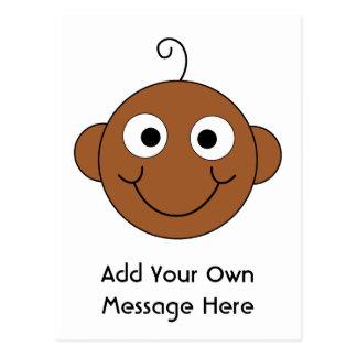 Cute Baby. Custom Text. Postcard